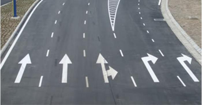 Sơn kẻ vạch giao thông sử dụng phổ biến trên nhiều tuyến đường