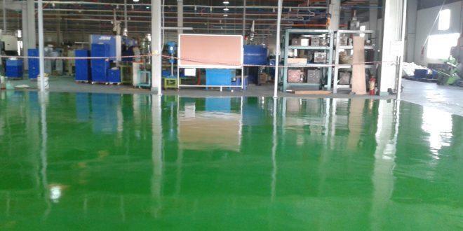 Điểm tốt của mẫu sơn sàn epoxy nền nhà xưởng